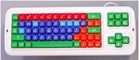 Tastaturersatz Clevy Tastatur QWERTZ, Großbuchstaben