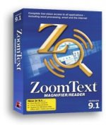ZoomText 9.1 Magnifier/Reader