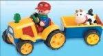 Adaptiertes Spielzeug Traktor